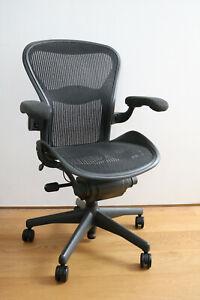 Herman Miller Aeron Bürostuhl Größe B Ergonomischer Stuhl Bürostuhl