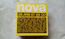 COFFRET 25 CD NOVA - 25 HEURES DE MUSIQUE, C'EST NOVA / neuf & scellé