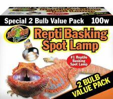Zoo Med (SL2100) Repti Basking Spot Lamp Value Pack 100W - (0097612362008)