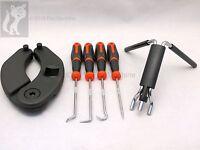 Case or Ford Backhoe Cylinder Tool Set Gland nut wrench, U-seal installer, picks