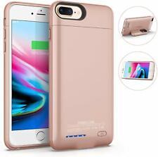 Battery Case for iPhone 6/ 7/ 8/ 6Plus/ 7Plus/ 8Plus Magnetic Black Rose Gold
