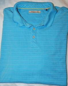 Men's Tommy Bahama Superfecta Striped Polo Shirt - Size XXXL 3XL