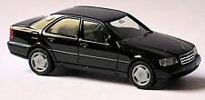 Mercedes Benz Clase C C220 W202 Sedán 1993-97 Negro 1:87 Herpa 021401