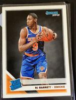 2019-20 Rj Barrett Donruss Rated Rookie #203