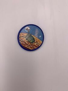 1960s KRUN-CHEE Potato Chips Space Coins  Space Magic #18 Lunik 3