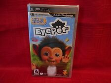 EYEPET: YOUR VIRTUAL PET PSP FACTORY SEALED NO CAMERA FREE SHIP!!!!!