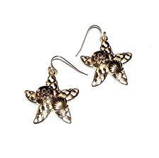 EARRINGS GT Wires Sea Life Star Fish STARFISH & SEASHELLS