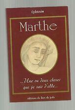 Ephraim MARTHE Robin une ou deux choses que je sais d'elle TBE
