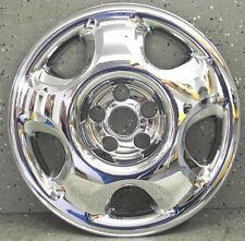 """HONDA CR-V 17"""" CHROME WHEEL SKIN LINERS HUBCAPS (2 PIECES) 75X / 75-17 CRV CR V"""