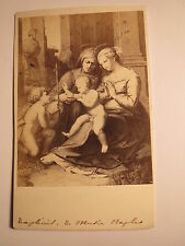 Raffael ? Christuskind mit Maria & Petrus ? - Naples - Neapel - Kunstbild / CDV
