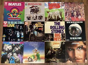 Vinyl Schallplatten Sammlung Beatles Rolling Stones Krautrock Rock Jazz Pop