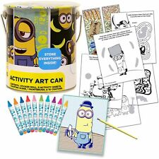 MINIONS COLORING ART KIT * New * On The Go-Take Along Set * Despicable Me