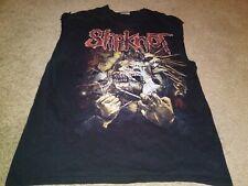 Vtg Slipknot T-Shirt Xl Men Music Rock World Tour Rap