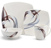 Mikasa Kya Dinnerware Collection 4 Piece Setting Place  New In Box!