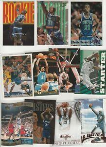 KEVIN KG GARNETT LOT (38) DIFFERENT W/ 6 INSERTS 6 1995-96 RC'S ULTRA SKYBOX SC