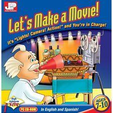 Junior Professor: Let's Make A Movie PC game
