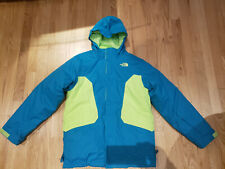 THE NORTH FACE Boy's Freedom Tri-Climate 3-in-1 Insulated Waterproof Ski Jacket