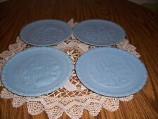 4 FENTON FEDERATION OF WOMEN'S CLUBS BICENTENNIAL PLATES  A PORTRAIT OF LIBERTY