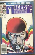 Machine Man 1984 series # 4 Canadian variant very good comic book