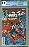 Amazing Spider-Man Facsimile Edition #252 CGC 9.8 Reprints 1st Black Costume
