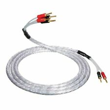 QED XT25 BiWire Speaker Cable 1.0m Single Length - 2 to 4 Gold Bananas