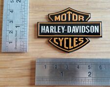 Harley Davidson 3D e insignia metálica con logotipo gráfico Calcomanía Moto alas de la etiqueta engomada