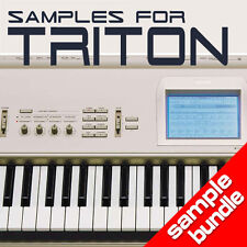 SAMPLES & PCG PROGRAMS for KORG TRITON & TR - 16GB Pack Keymaps KMP, KSF & KSC
