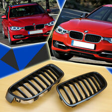 BMW F30/F31 3-Series Sedan/Touring  Matte Black Front Grille Grills 328i 335i