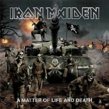 "IRON MAIDEN ""A MATTER OF LIFE AND DEATH"" CD NEW"