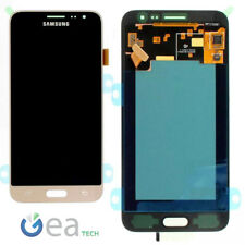 SAMSUNG Display Schermo LCD Originale Per Galaxy J3 2016 J320FN Touch Oro Gold