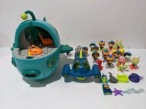 Octonauts Octopod Mixed Lot Of GUPS Submarines Characters Vegimals & Extras