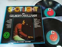 "Gilbert O´Sullivan Spotlight 24 Große exitos - Disco 2 X LP Vinyl 12 "" VG/VG"
