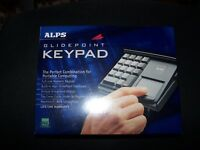 ALPS ADB Glidepoint Trackpad and keypad for Macintosh