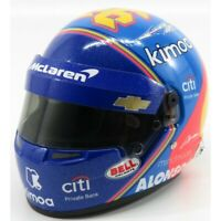 Fernando Alonso 'Indy' Mini Helmet 1:2 Scale | F1 Fan Gift