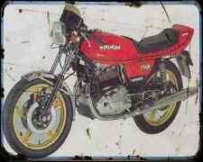 DUCATI 500 Desmo 78 1 A4 Metal Sign moto antigua añejada De
