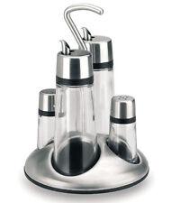 Lacor  Luxe | Ménagère 4 pièces sel, poivre, huile et vinaigre
