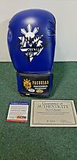 Manny Pacquiao Signed Boxing Glove w/ COA (Pacquiao Official Equipment)