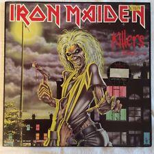 Iron Maiden - Killers - German LP 1981 Vinyl, neuwertig, EMI 038 1575931, NM/Ex+