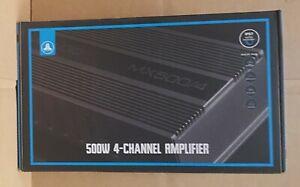 JL Audio MX500/4 Marine Powersports Weather Resistant 500 watt 4 Chan Amplifier