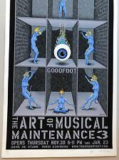 EMEK Glow Variant Poster Pearl Jam phish widespread panic 311