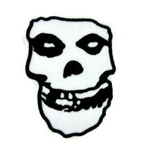 Misfits Skull Patch Iron on Applique Glenn Danzig Gothic Psychobilly Punk Rock
