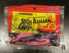 "Bass Assassin - 4"" Crawdad Tequila Sunrise 10PK"
