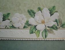 Carol Wilson Stationery 10 Note Cards Envelopes Blank White Magnolia Magnolias