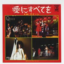 """Queen - Somebody To Love c/w White Man 7"""" JAPAN 45"""