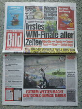 WM Finale 16.Juli 2018 - Bild Zeitung - Frankreich-Kroatien 4:2, Nürnberg - NEU