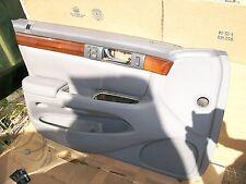CADILLAC SEVILLE 1998 - 2004 ORIGINAL DRIVER SIDE DOOR PANEL GRAY  25716911