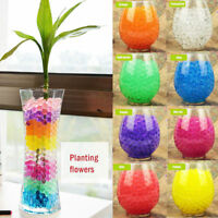 1000x Water Beads Crystal Jelly Gel Ball Soil Bio Plant Wedding Vase Filler Toy