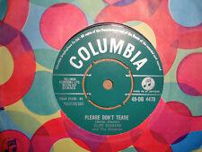 CLIFF RICHARD,  PLEASE DONT TEASE,  COLUMBIA RECORDS 1960  MINT