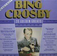 BING CROSBY 20 Golden Greats LP