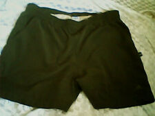 Mens Adidas swim shorts dark olive smooth touch with elasticated waist size XXL